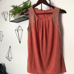 🌱3/24$ NWOT Loft shirt Size XS Color Coral